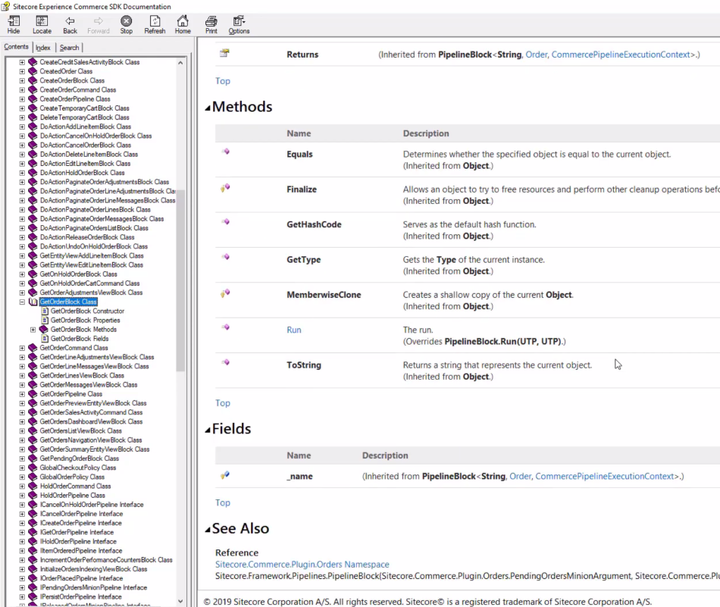 Example API documentation